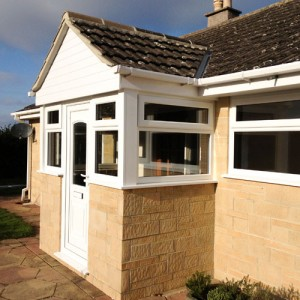 new UPVC windows and doors