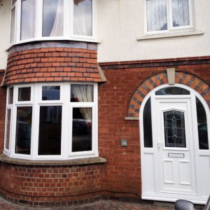 new UPVC window and door